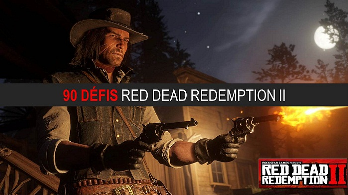 90 défis Red Dead Redemption 2 guide complet