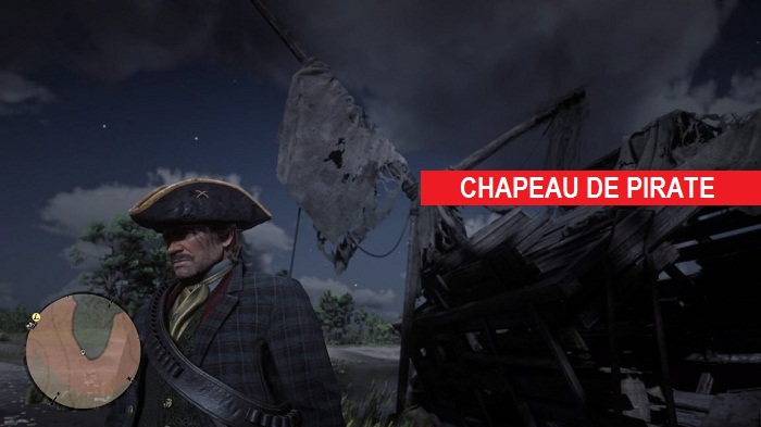 chapeau de pirate red dead redemption 2