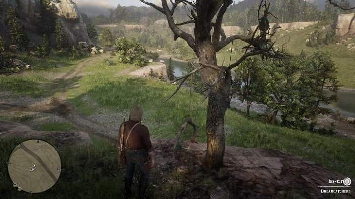 Wiki Guide Attrape-rêves dans Red Dead Redemption 2 - Emplacement